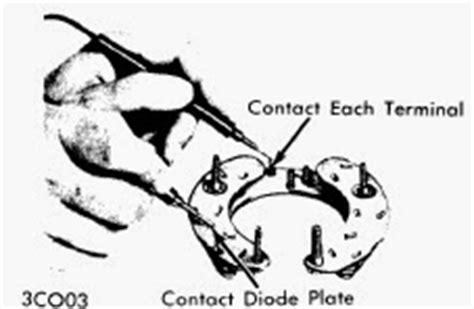 alternator bad diode test repair manuals june 2014