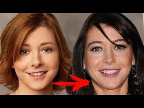 Now And Then Alyson Hannigan Goes by Alyson Hannigan Change From Childhood To 2017