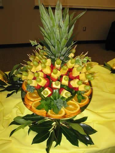 fruit centerpieces fruit centerpiece appetizers dips ideas