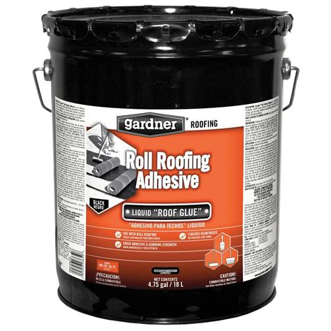 gardner 4 75 gal roll roofing adhesive 0365 ga the home