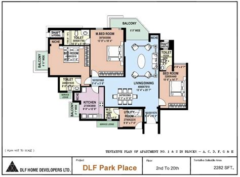 park place floor plans floor plans of dlf park place dlf city phase v gurgaon