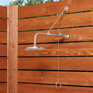 Pull Chain Shower Valve by Stainless Steel Pull Chain Wall Mount Outdoor Shower