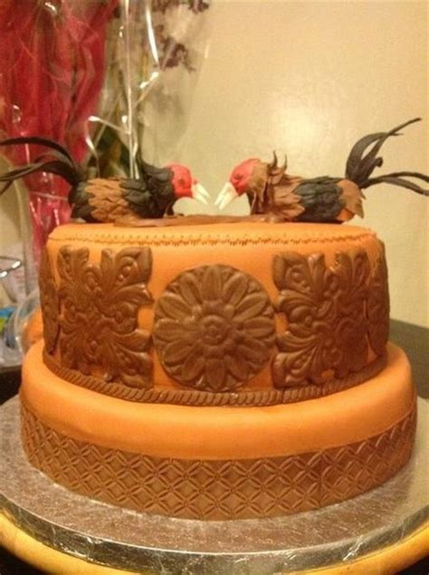 Fighting Roosters By Moybellacakesbygaby Cakesde R