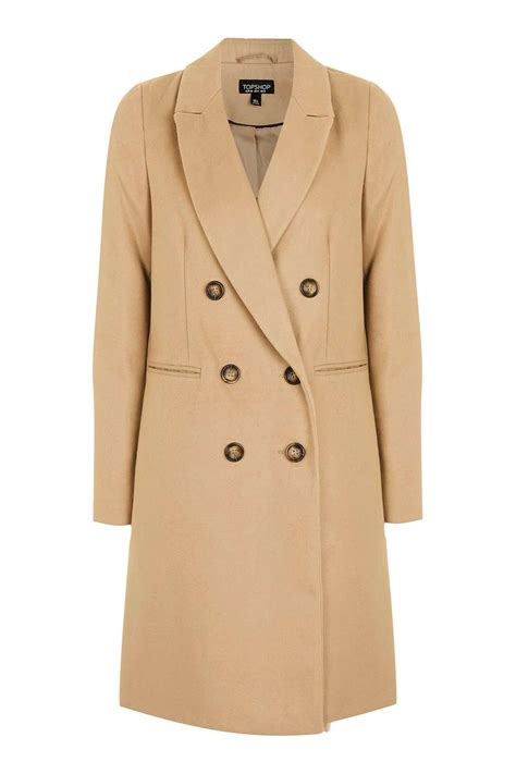 In Coat by Breasted Coat New In Topshop