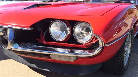 alfa romeo montreal headlights parking at pasteiners alfa montreal headlights 06 14