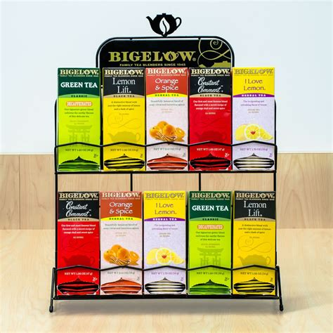 Tea Rack by Bigelow 5 5 Tea Rack Merchandiser