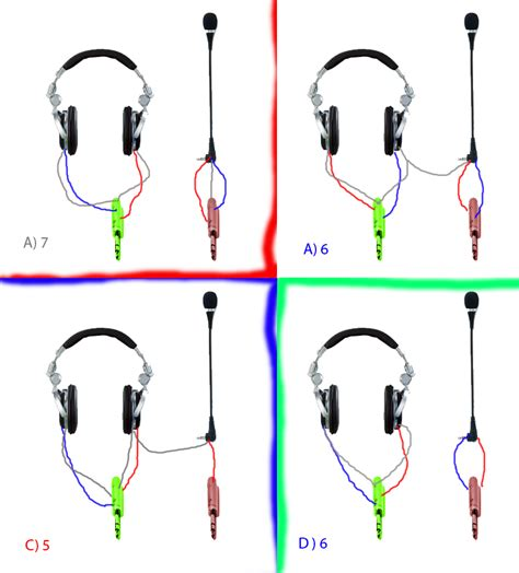 earphone mic wiring wiring diagram with description