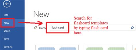 flash card templates from microsoft gallery q how can i make flashcards with microsoft word s