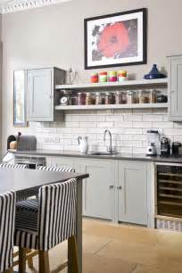 Kitchen Shelves And Cabinets by 22 Ideas For Styling Open Kitchen Shelves Brit Co