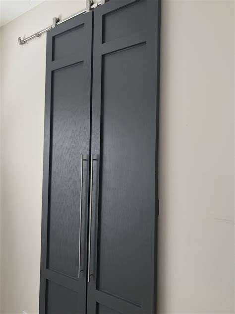 modern barn doors diy modern style sliding barn doors with pulls part 2