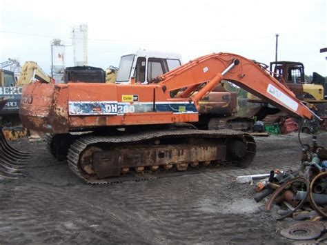 daewoo dh280 heavy equipment parts southern tractor