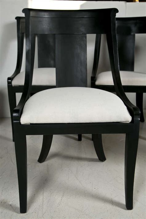 set of six baker dining chairs at 1stdibs