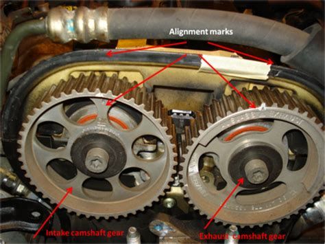 2006 Suzuki Forenza Timing Marks Bezalel S Apprentice Replacing The Gasket On A 2004