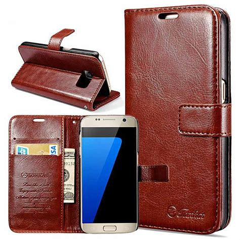Promo Samsung Galaxy S7 Edge Flip Pu Leather Wallet For Samsung wallet pu leather for samsung galaxy s7 s7 edge coque phone bag flip cover stand cases