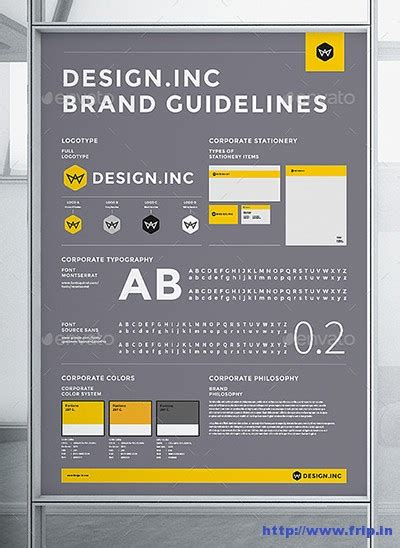 design guidelines template 50 best brand manual corporate design guidelines