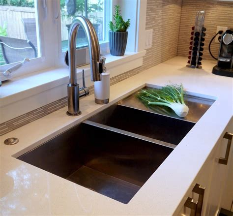 undermount sink with drainboard undermount sink with drainboard kitchen contemporary with