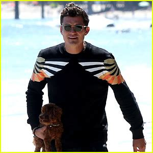 orlando bloom puppy celebrity gossip and entertainment news just jared