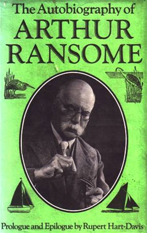 autobiography book cover arthur ransome and swallows and amazons