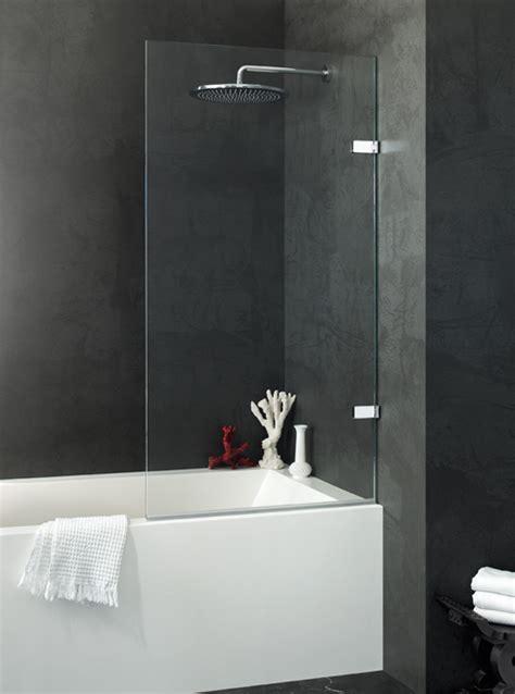 glass screens for bathrooms mistley bathroom glass jophiel single bath screen