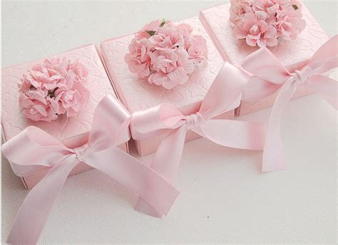 Wedding Jewelry Box Favors by Wedding Favors Ring Jewelry Box Baby Shower Favors Pink By