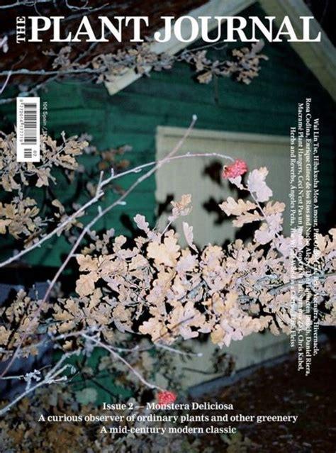 the plant journal 2 01 magazine