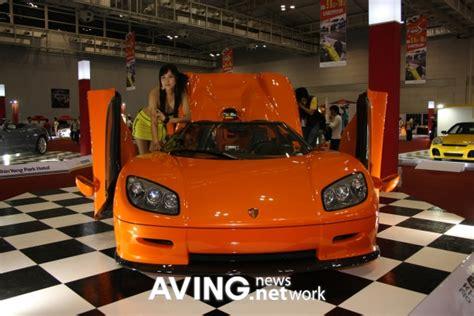 koenigsegg korea 세계에서 가장 빠른 차 코닉세그ccr koenigsegg ccr 전시
