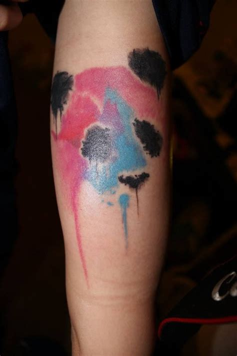 34 watercolor panda tattoos