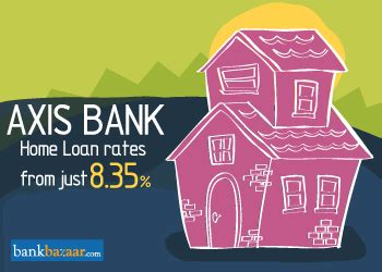 axis bank housing loan interest axis bank home loan interest rates 8 35 eligibility