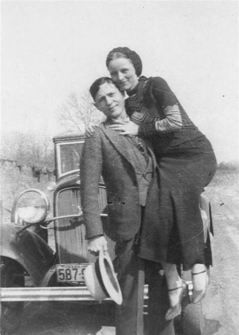 The real Bonnie and Clyde of the notorious Barrow
