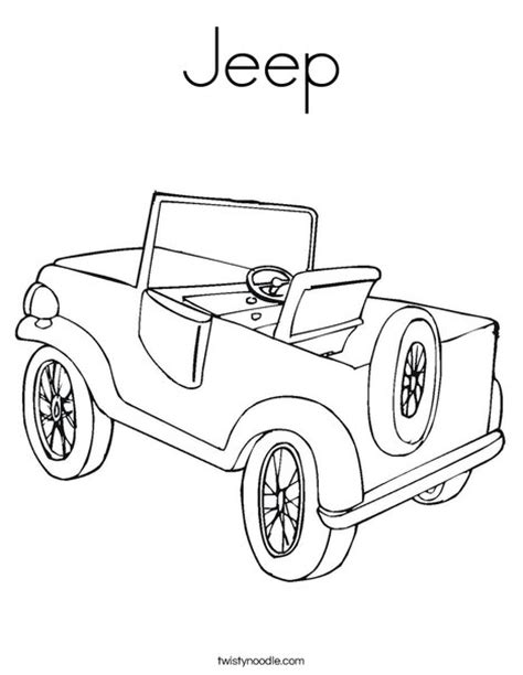jeep liberty coloring pages jeep coloring page twisty noodle