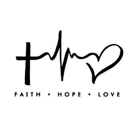 faith hope love hope love and faith on pinterest