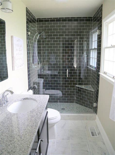 reasons you should use black subway tile in your bathroom 683 best images about before afters on pinterest