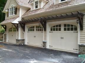 Three Car Garage Lighting Carriage Garage Doors Home Sweet Home