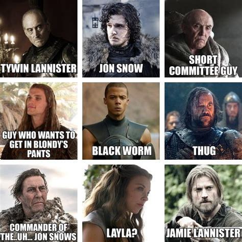 of thrones names of thrones characters with names names of of thrones characters according