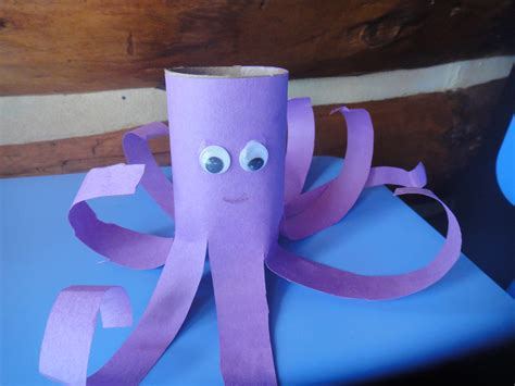 free toilet paper roll crafts prehistoric sea creatures crafts