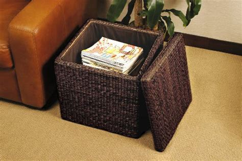 sit and store storage ottoman sit and store with the rush cube storage ottoman from