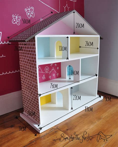 how to build a barbie doll house from scratch best 25 diy dollhouse ideas on pinterest