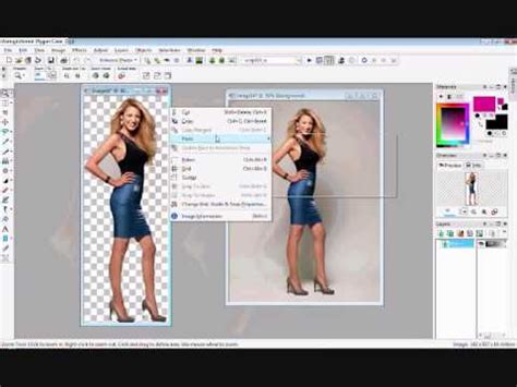 corel draw x7 remove background how to remove the background cut out people on paint shop