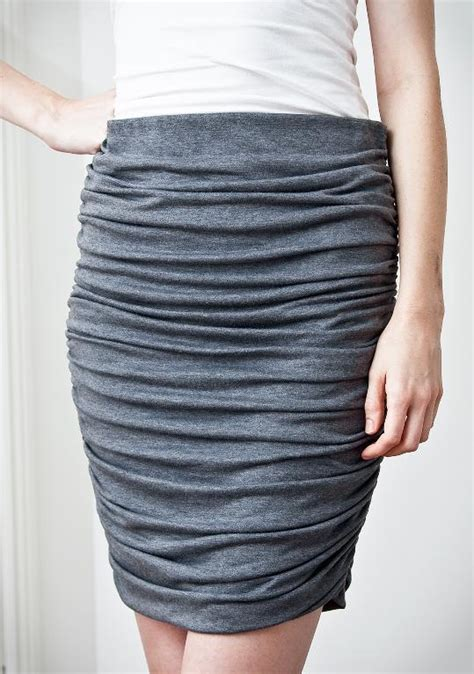 draped skirt pattern draped knit skirt with elastic waistband by pattern runway