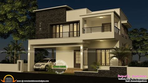 Kerala Home Design And Elevations Home Design Bedroom Modern House With Plan Kerala Home