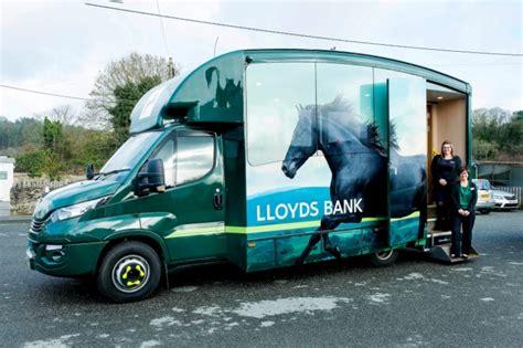 mobile lloyds autolease supplies mobile bank branches business vans