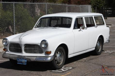volvo amazon   door station wagon