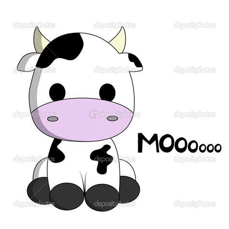 imagenes vaquitas tiernas cow cartoon cute cow cartoon stock vector 169 pixxart