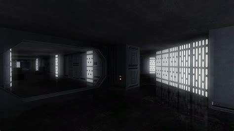 star wars celebration v death star hallway recreation a photo on flickriver balance of power death star wip image mod db