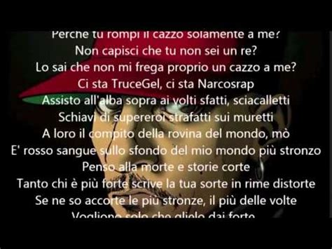 truceklan in the panchine testo noyz narcos ft chicoria cronaca quotidiana lyrics musica