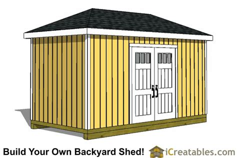 8x16 Shed Plans by 8x16 Storage Shed Plans Easy To Build Designs How To