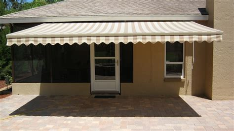 Sunbrella Retractable Awning by Motorized Sun Shade Sunbrella Retractable Awnings