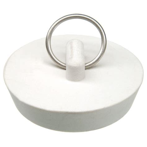 kitchen sink stopper danco 1 3 4 in kitchen sink stopper in white 88272 the