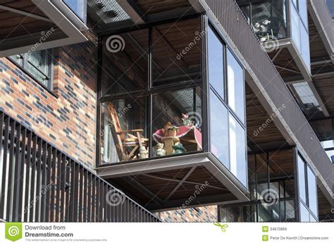 Modern Row House Plans - balcony on a conservatory royalty free stock images image 34670869