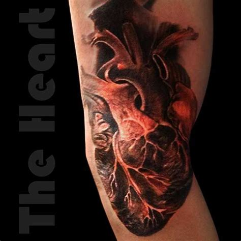 tattoo realistic heart 23 best realistic tattoo designs images on pinterest ink